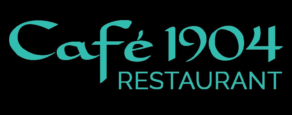 Cafe Logo_Cafe 1904 Blue Logo